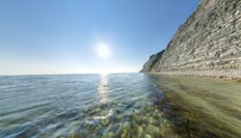 3D панорама - Черное море