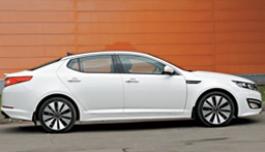 3D панорама автомобиля Kia Optima