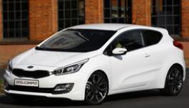 3D панорама автомобиля Kia Pro Ceed
