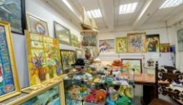 3D Сайт - Художественная галерея