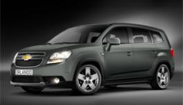 3d панорама автомобиля Chevrolet Orlando