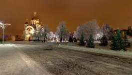 3D панорама Зимняя Площадь Славы