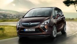 3d панорама автомобиля Opel Zafira